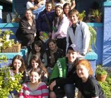 Young Judaea Spends Alternative Winter Break Volunteering with Green Light