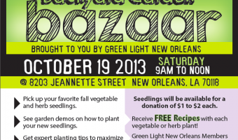Pick up your fall plants at Green Light's Backyard Garden Bazaar