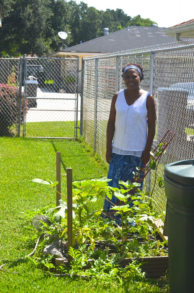 Ms. Bailey and her Summer Garden