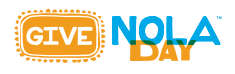 GiveNOLA Day on Tuesday, May 2