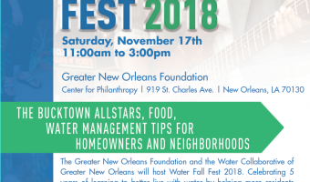 Come Celebrate with us at Water Fall Fest 2018!